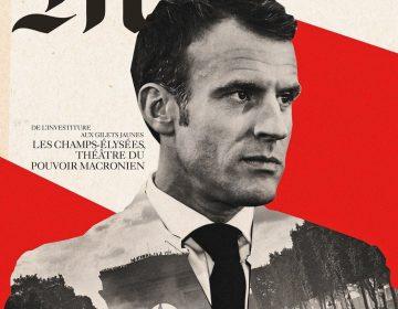 Le Monde se disculpa con Macron por compararlo con Hitler en la portada de su revista