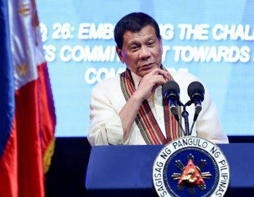 Presidente de Filipinas alardea de cómo abusó sexualmente de una empleada del hogar