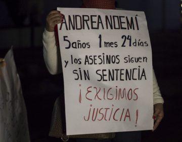 Reciben sentencia homicidas de Andrea Nohemí y Kathy