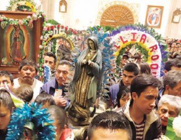 Más de 15 mil peregrinos llegaron ayer a La Villita en Pachuca