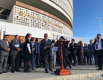 """Acusan magistrados y jueces campaña de """"desprestigio"""" en su contra"""