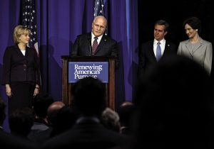 Cómo Christian Bale logró transformarse en Dick Cheney