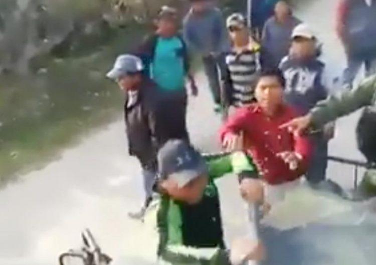 Huachicoleros agreden a militares en Tepeaca