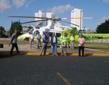 Helicóptero de exgobernadores ahora será ambulancia