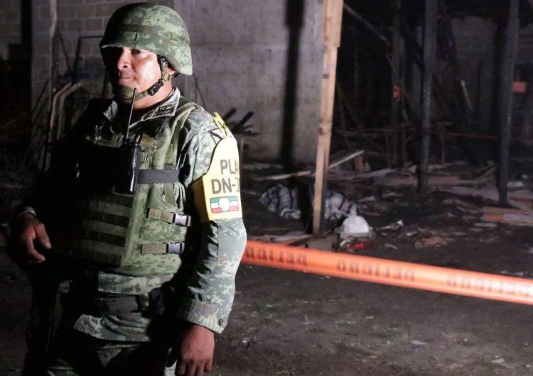 Durazo advierte que si no se aprueba la Guardia Nacional los militares dejarían las calles