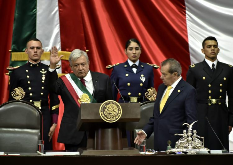 México tiene nuevo presidente: AMLO rinde protesta, promete acabar con la corrupción y gobernar para los pobres