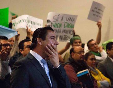 El debate que impidió reforma antiaborto en Aguascalientes