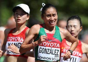 Suspenden a la medallista olímpica Lupita González por dar positivo en dopaje
