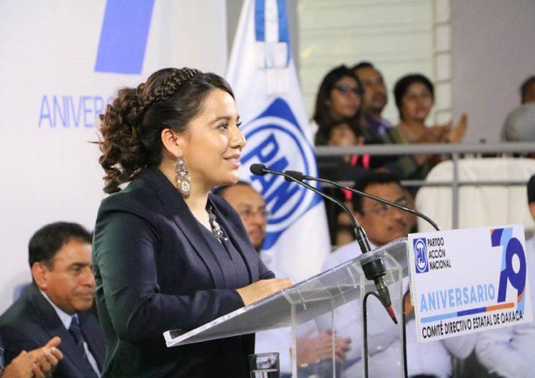 Ratifica CEN del PAN a Naty Díaz como presidenta del albiazul
