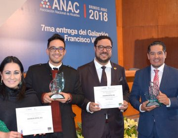 Premian dos programas de empleo y turismo del municipio capital