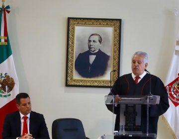 Renuncia presidente del Poder Judicial en Oaxaca