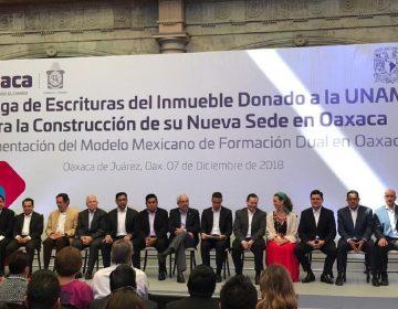 Construirá UNAM en Oaxaca Centro de Investigación Científica y Humanística