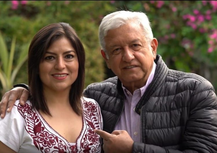 amlo y claudia rivera vivanco