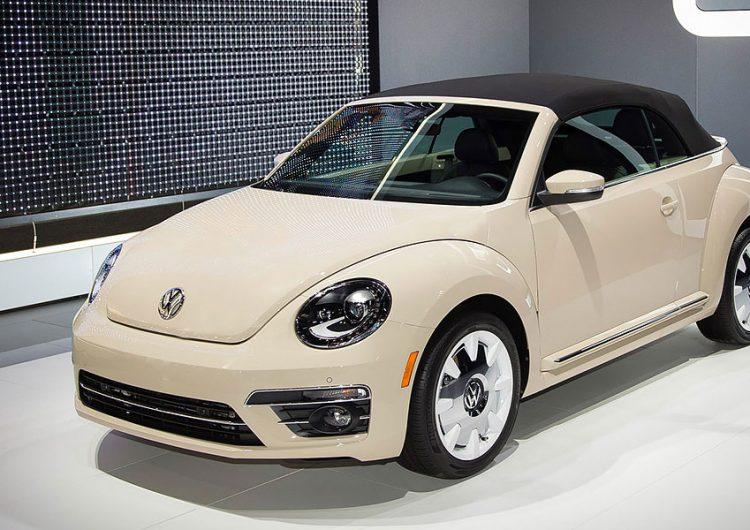 Beetle final edition en Auto Show de Los Ángeles
