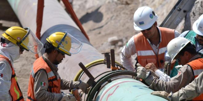 Transcanada determinará en marzo si acaba dos gasoductos en Hidalgo