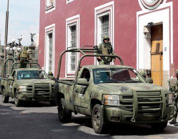 Llegan a Puebla elementos de la Guardia Nacional