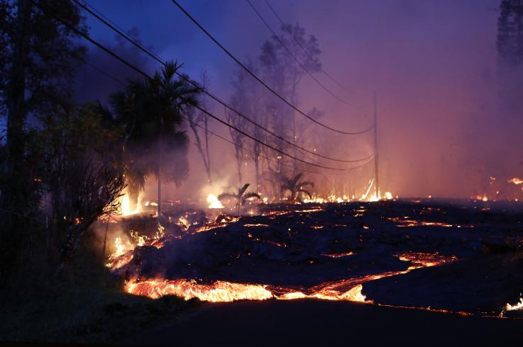 Kilauea es el volcán más peligroso en EE. UU., y la erupción de este año fue la más grande en dos siglos
