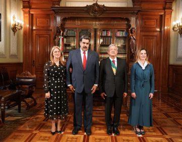 Qué dijo Nicolás Maduro a su llegada al Palacio Nacional