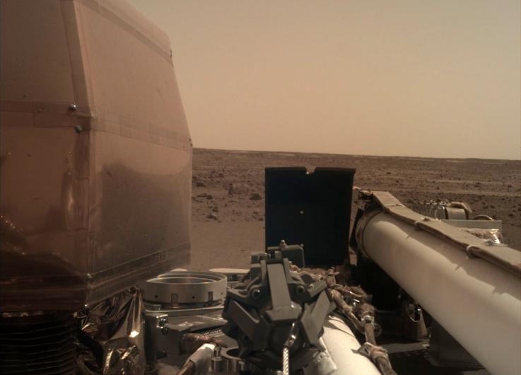 Escucha el sonido del viento en Marte: Insight envía audio a la Tierra