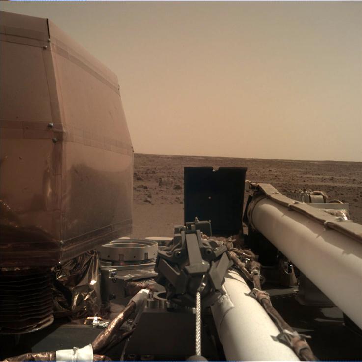 NASA reveló cómo suena el viento en Marte