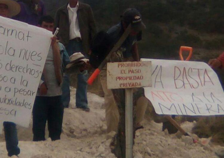 Exigen frenar proyectos de muerte en Puebla