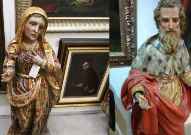 Disminuyen robos de arte sacro en Puebla