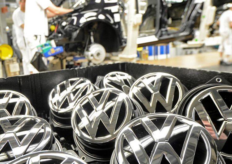 Cae producción y exportación en Volkswagen