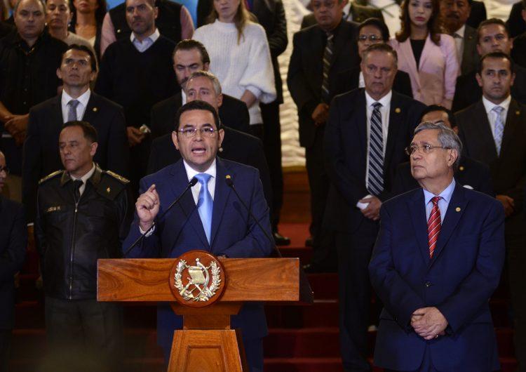 Corte de Guatemala frena la salida de Comisión Anticorrupción de la ONU ordenada por Jimmy Morales