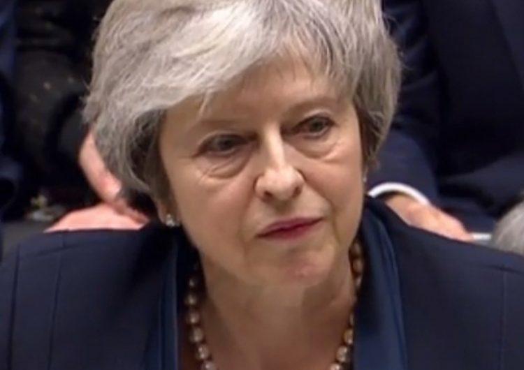 Rechazan acuerdo de Brexit propuesto por May
