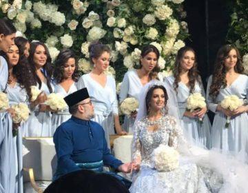 """El rey de Malasia abdica al trono y termina con semanas de especulación por una """"boda secreta"""""""