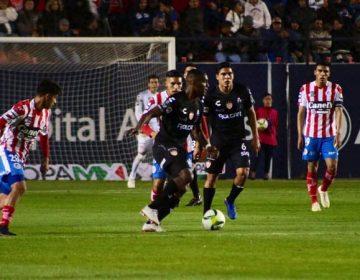 Necaxa derrota al Atlético San Luis en su debut en Copa MX