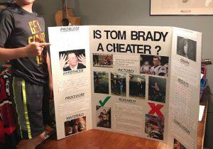 Un niño gana feria de ciencia al demostrar que Brady hizo trampa desinflando balones