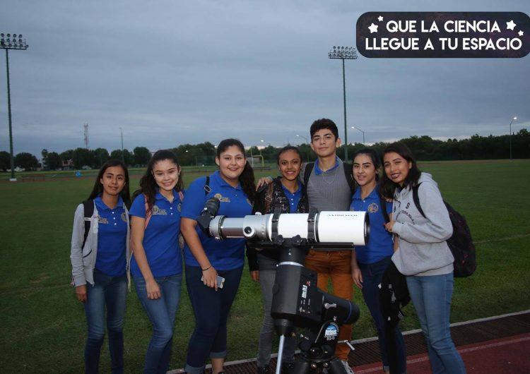 UANL realiza evento con motivo del primer eclipse lunar de 2019