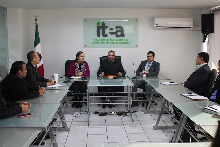 Inician revisiones del ITEA a sujetos obligados de Aguascalientes