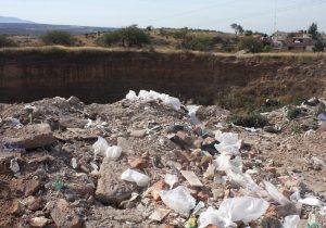 Pide PROESPA denunciar tiraderos de escombro en flagrancia en Cobos