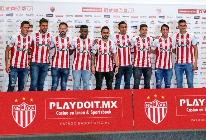 Presentan al D.T. y nuevos jugadores del Necaxa para el Clausura 2019