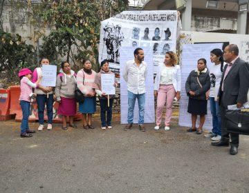 Libertad a presos políticos de Eloxochitlán, demandan