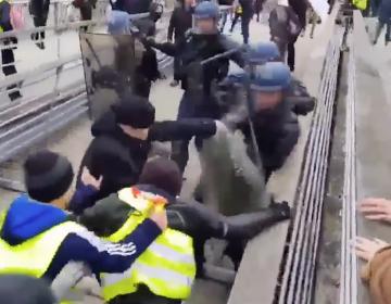 El exboxeador que recaudó 133 mil dólares para su defensa tras golpear a un policía durante protesta en Francia