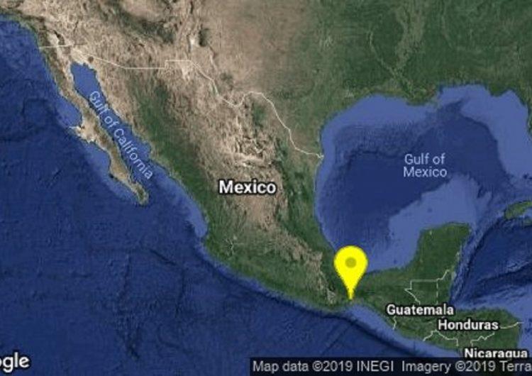 Sacude sismo a Oaxaca, no hay daños