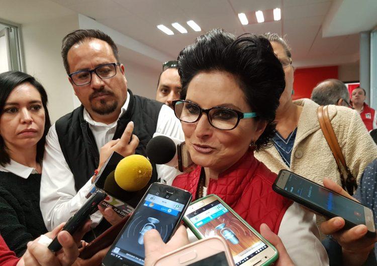 Coquetea Blanca Rivera Rio con alcaldía de Aguascalientes