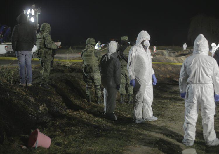 Las imágenes de la explosión de una toma clandestina en Tlahuelilpan, Hidalgo