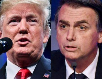 """""""Somos amigos de EE.UU"""": Bolsonaro le hace un 'guiño' a Trump en su segundo día de mandato"""
