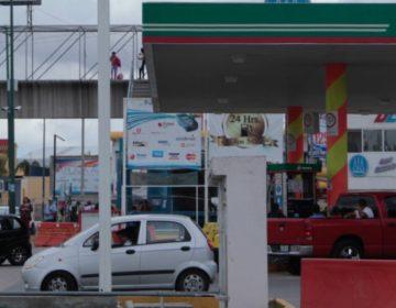 Reportan desabasto de gasolina en Puebla