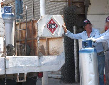 Hasta en $416 se vende el tanque de Gas LP de 20kg