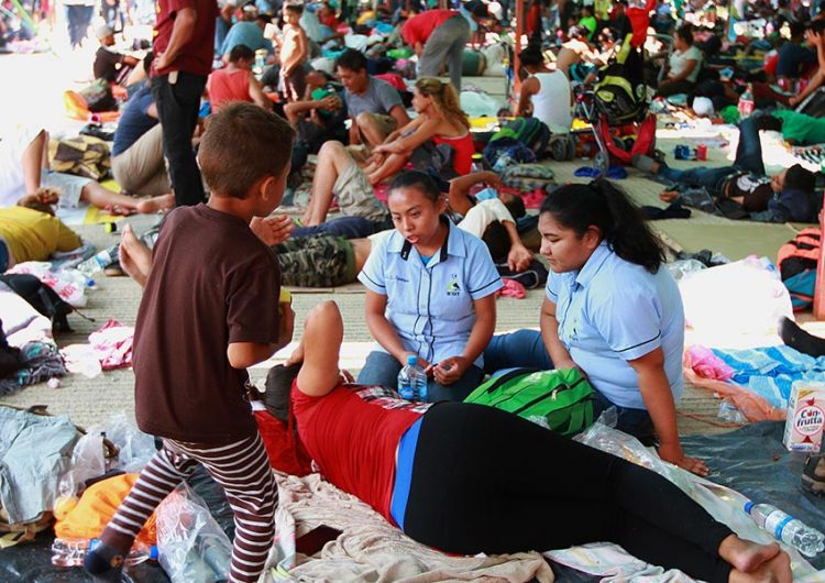 Enfermos 70% de migrantes que transitan por México