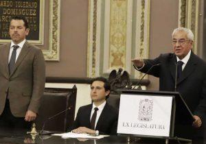 Guillermo Pacheco Pulido gobernador interino de Puebla