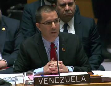 """Venezuela dice ante la ONU que no es un """"trofeo de guerra"""" para Trump"""