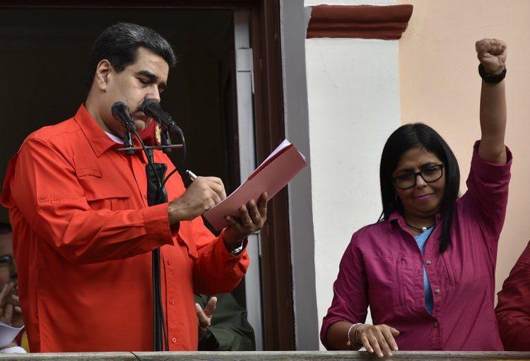 Ayuda humanitaria está contaminada y es cancerígena, afirma la vicepresidenta de Venezuela