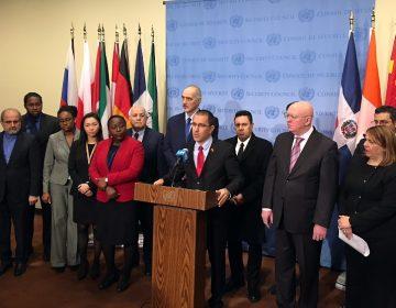 Venezuela anuncia en la ONU que tiene el apoyo de 50 países para evitar una invasión militar de EU