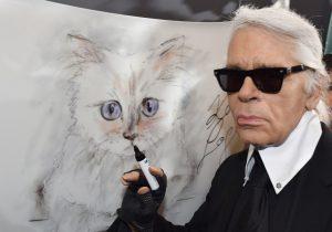 La gata Choupette, el amor de Karl Lagerfeld y una de sus herederas